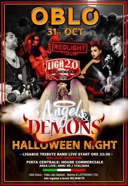Halloween Night - OBLò DISCO - TARANTO - Martedi 31 Ottobre 2017