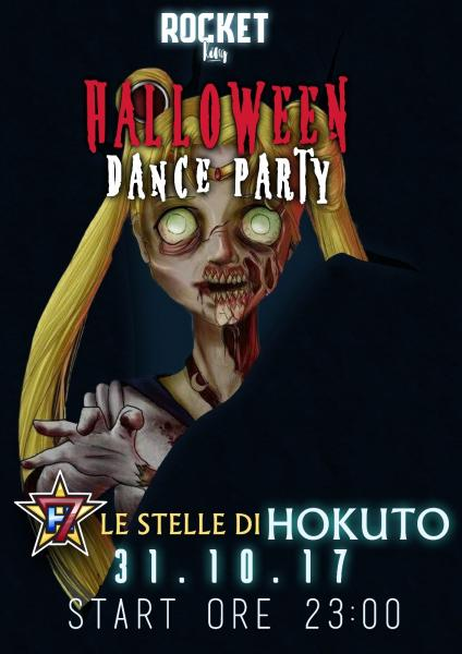 Halloween Dance Party - Le stelle di Hokuto live al Rocket King