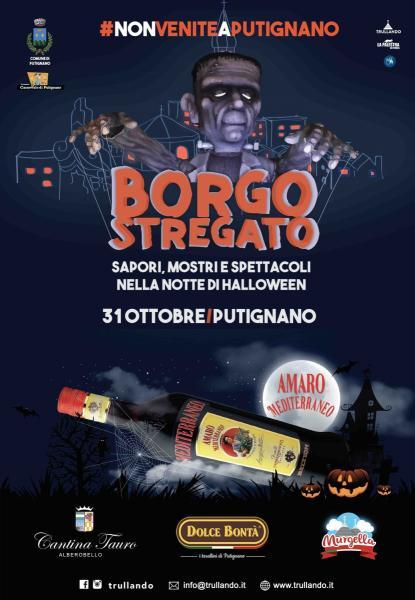 Borgo Stregato – sapori, mostri e spettacoli nella notte di Halloween