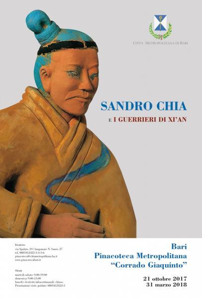 SANDRO CHIA e I guerrieri di Xi'an