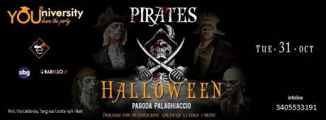 Mart 31 Ott *Pirates - Halloween YOUniversity* Palaghiaccio Bari