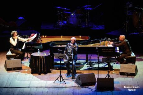 3union: Gino Paoli, Sergio Cammariere, e Danilo Rea in concerto