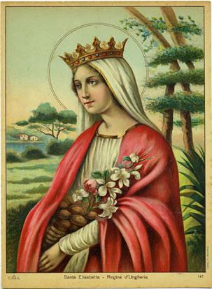 Ricorrenza di santa Elisabetta d'Ungheria a Cristo Re