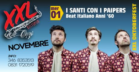 I Santi con **I Paipers** at XXL Music Pub // 1/11/2017