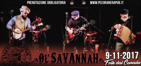 OL' SAVANNAH live