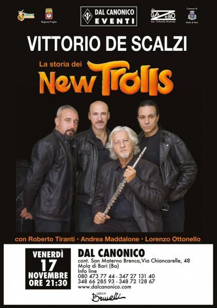 Vittorio De Scalzi e la storia dei New Trolls