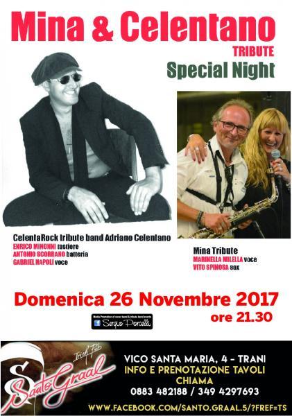 Mina & Celentano Tribute Special Night a Trani