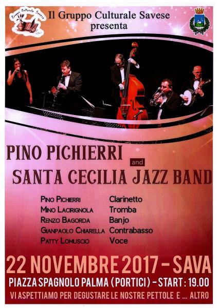 Pino Pichierri  and Santa Cecilia JAZZ BAND