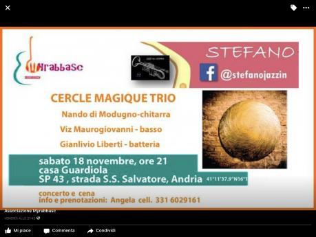 Cerque  Magique Trio