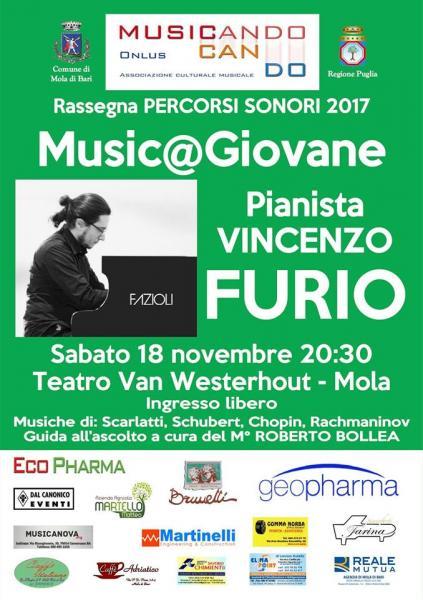 Music@Giovane 2017: Vincenzo Furio