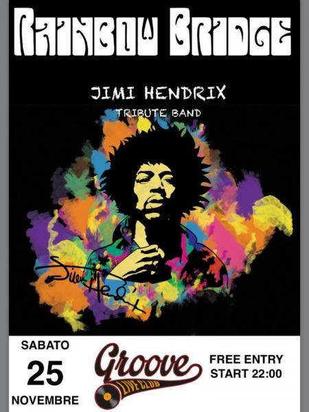 Rainbow Bridge in concerto - A Tribute to Jimi Hendrix