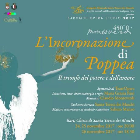 L'Incoronazione di Poppea. Il trionfo del potere e dell'amore.