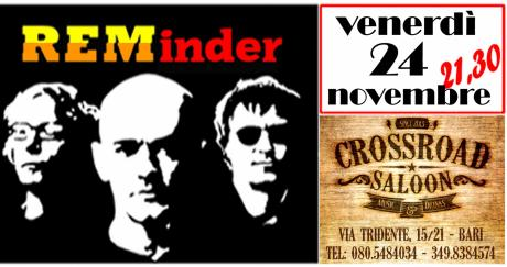 REMinder - REM Tribute Band in Concerto @ Crossroad Saloon