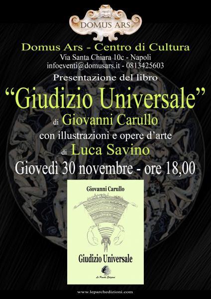 """""""Giudizio Universale"""" di Giovanni Carullo"""