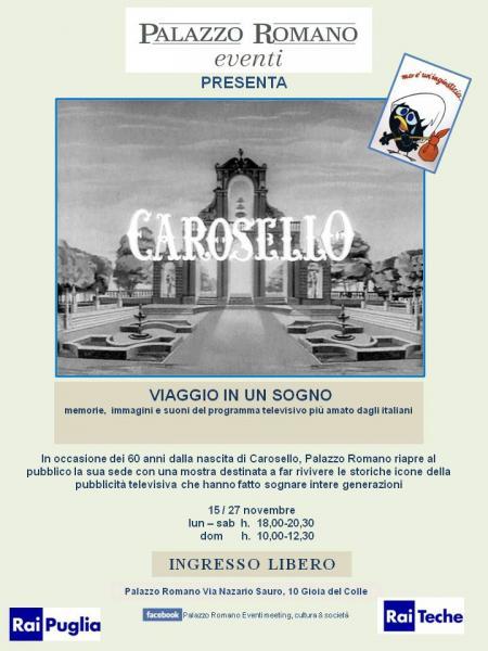 """""""Carosello""""  Viaggio in un sogno"""