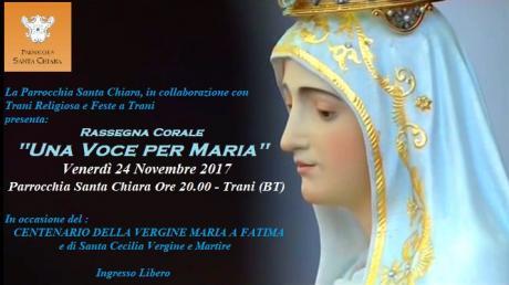 """Rassegna Corale """"Una Voce per Maria"""""""