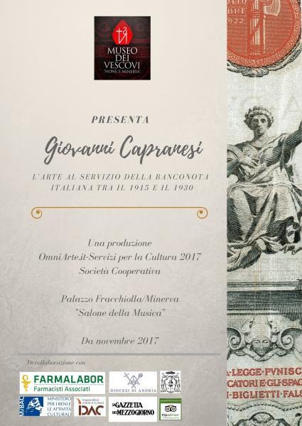 Giovanni Capranesi: l'arte al servizio della banconota italiana tra il 1915 e il 1930