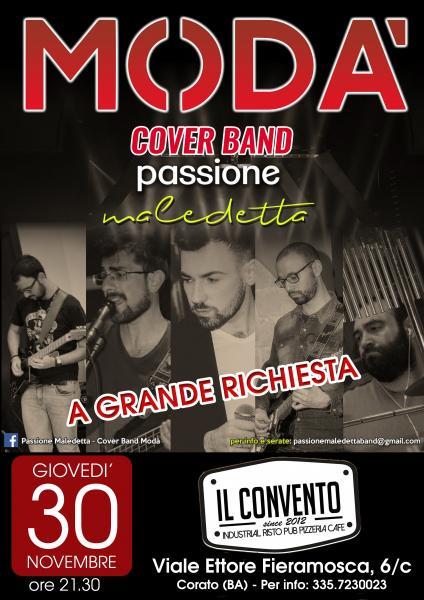 Modà Passione Maledetta live Il convento Industrial Risto - Pub Pizzeria Cafe Corato (BA)