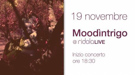 Moodìntrigo live Ridola Caffé