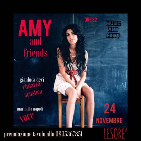 Tributo ad AmyWinehouse & Friends @ Lesorè Bar/Pub (Modugno)