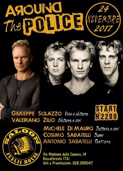"Around The Police live al ""Saloon Public House"""