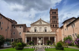 SANTA CECILIA IN TRASTEVERE E GLI AFFRESCHI DI PIETRO CAVALLINI