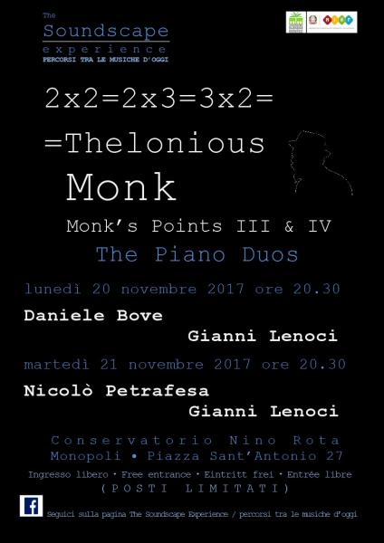 2x2=2x3=3x2=Thelonious Monk / Monk's Points III & IV  The Piano Duos