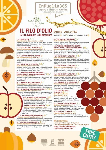 IL FILO D'OLIO - Tour, Laboratori, Degustazioni tra Salento e Valle D'Itria