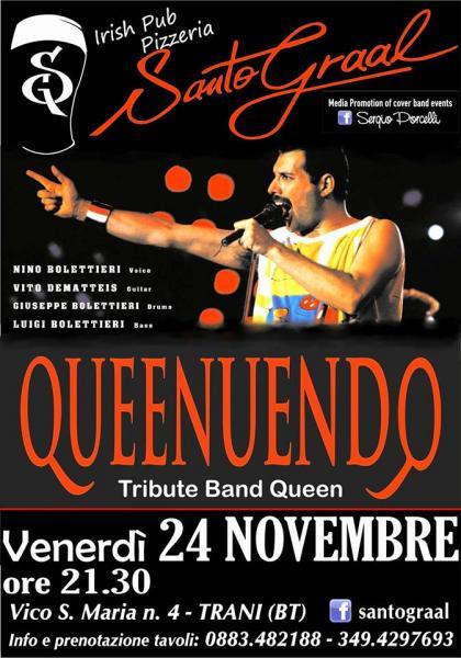 Queenuendo - tribute band queen a Trani