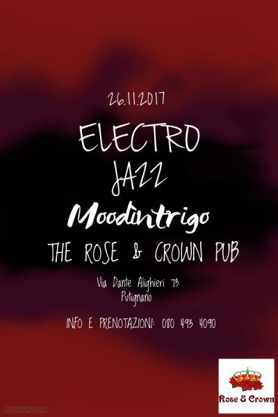 Moodìntrigo live The Rose & Crown Pub