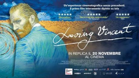 LOVING VINCENT La nuova frontiera della Grande Arte al cinema. IN REPLICA IN CONTEMPORANEA NAZIONALE* da SABATO 18 A MARTEDI 21 NOVEMBRE 2017 AL MULTISALA VIGNOLA