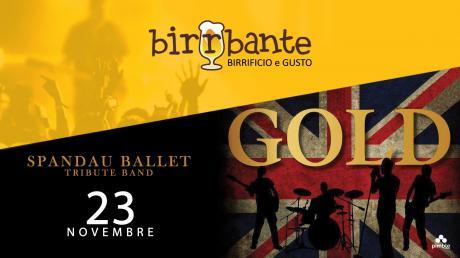 Live Gold - Spandau Ballet Tribute Band