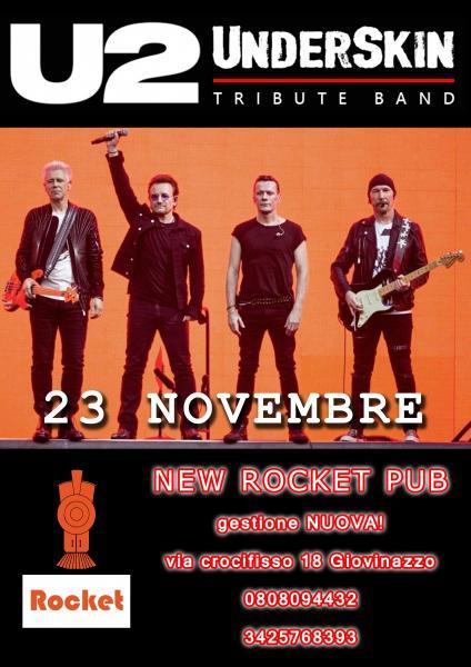 U2 Underskin  live @ New Rocket Pub a Giovinazzo