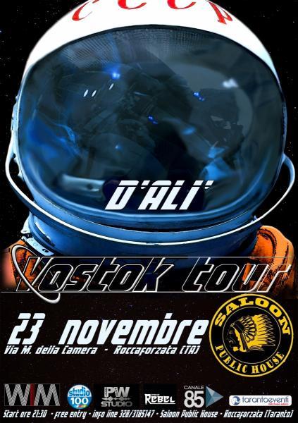 D'Alì - Vostok tour - #0 Saloon Public House