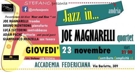 Joe Magnarelli quartet