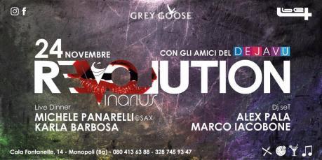 Venerdì 24 Novembre party Revolution @t Vinarius