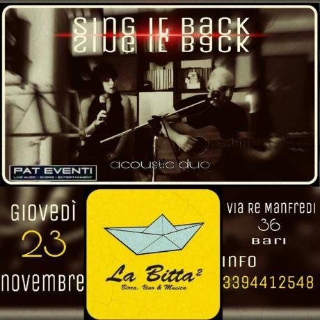 Sing It Back Duo (Davide Rossini e Selene Periposti) a La Bitta 2