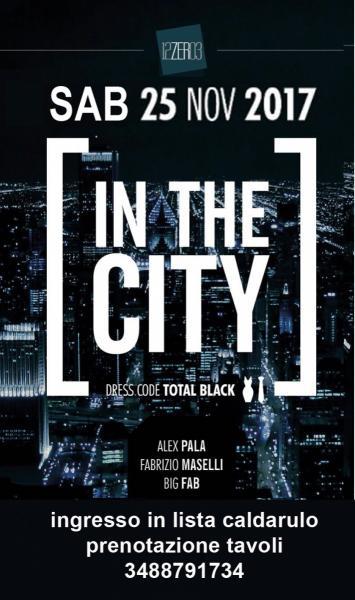 Total Black IN THE CITY al 12.03