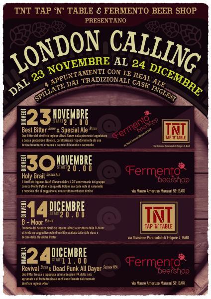 London Calling - il Ritorno Dei Cask!