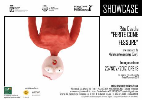 """Rita Casdia- """"Ferite come Fessure""""// presentato da Muratcentoventidue (Bari) presso la Fondazione Pino Pascali"""