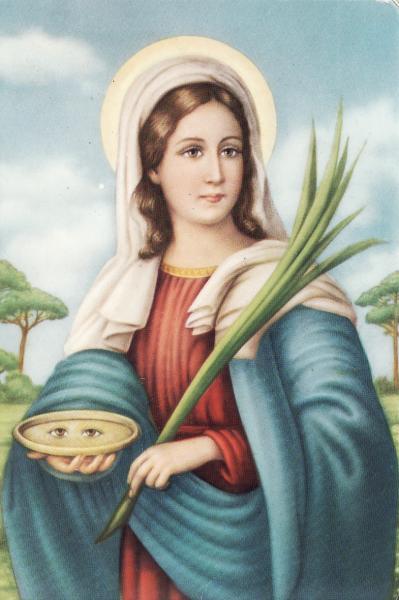 Ricorrenza di Santa Lucia presso la chiesetta di San Pietro dei Greci