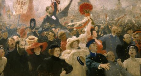 REVOLUTIJA - da Chagall a Malevič, da Repin a Kandinsky