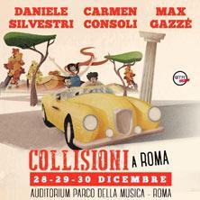 Collisioni: Daniele Silvestri, Carmen Consoli, Max Gazze'