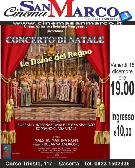 """CONCERTO DI NATALE """"LE DAME DEL REGNO"""" Ensemble"""