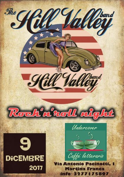 Hill Valley Rock'n'roll Band live all'Undercover di Martina