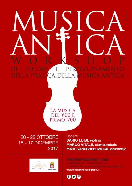 Workshop di musica antica