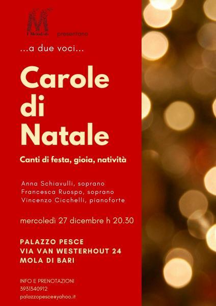 """""""…a due voci…Carole di Natale"""""""