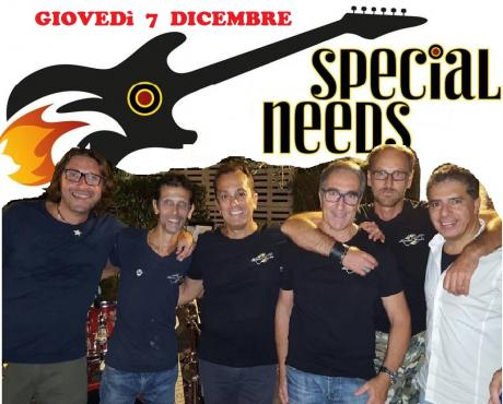 """Special Rock Covers live con gli """"Special Needs"""""""