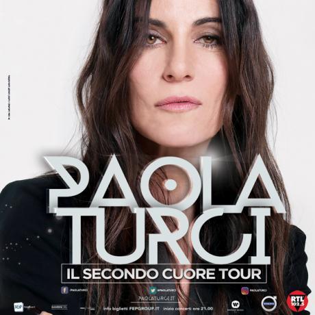 """Paola Turci in concerto """" il Secondo Cuore"""" Tour"""