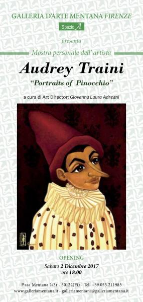 Portraits of Pinocchio Audrey Traini